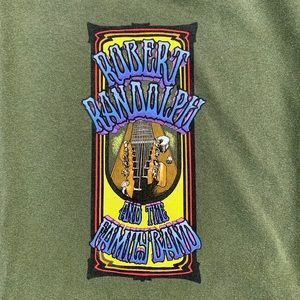 Robert Rudolph and the family band tee